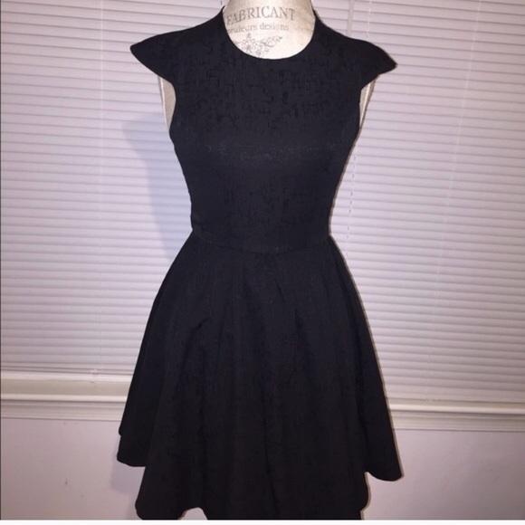 esther Dresses & Skirts - Black textured cocktail dress - LBD 🌟HP🌟